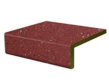 Vinylstufen Clay red Novilux 2514 Tresabo